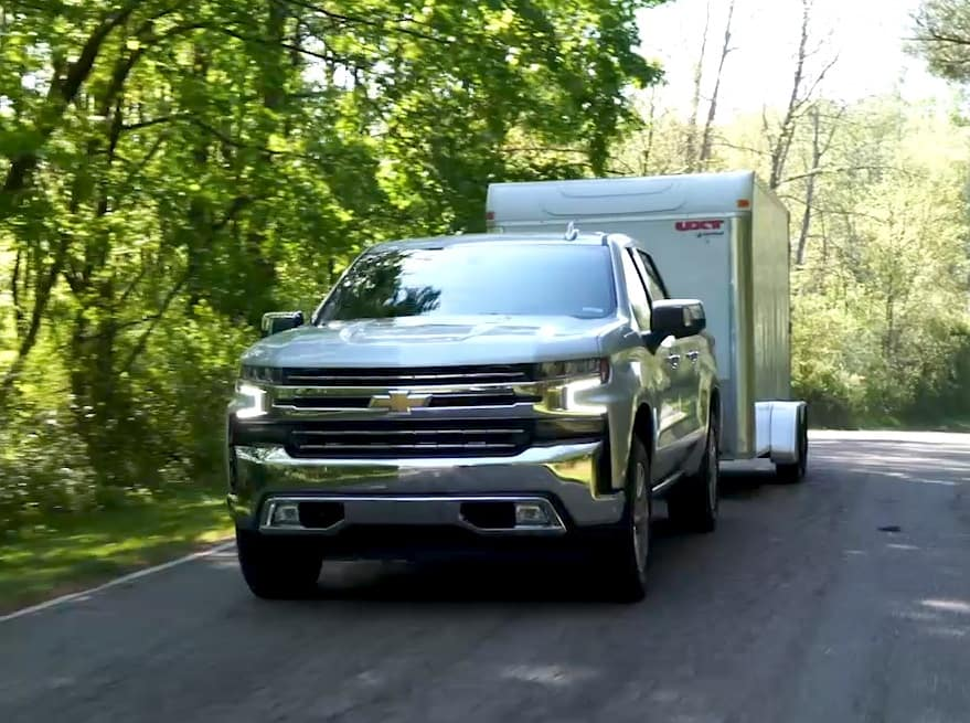 2019 Chevrolet Silverado Towing