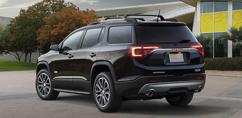 go big in a 2019 gmc acadia garber automall in green cove springs. Black Bedroom Furniture Sets. Home Design Ideas