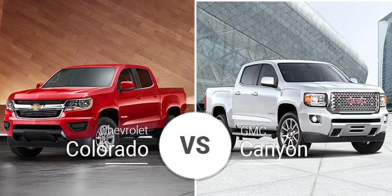 Garber Auto Mall >> Chevy Colorado Vs. GMC Canyon: Cross-Town Sibling Showdown