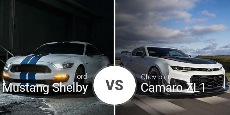 Mustang Vs Camaro >> Ford Mustang Shelby Gt350 Vs Chevy Camaro Zl1