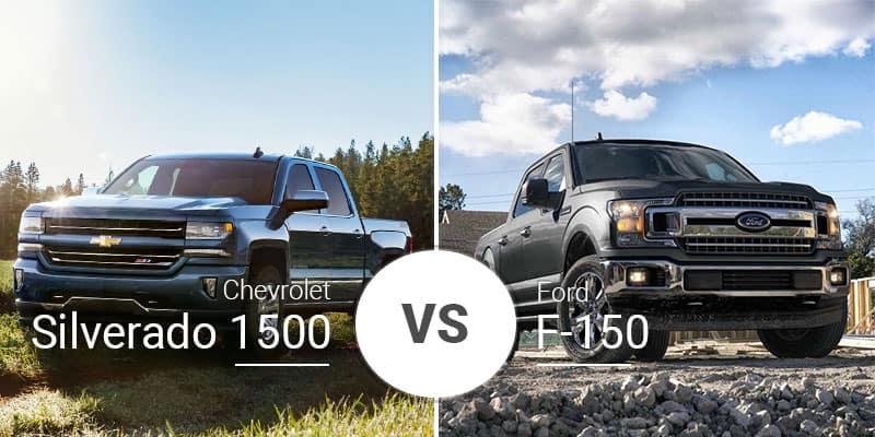 F150 Vs Silverado >> Chevy Silverado 1500 Vs Ford F 150 Decades Old War Continues