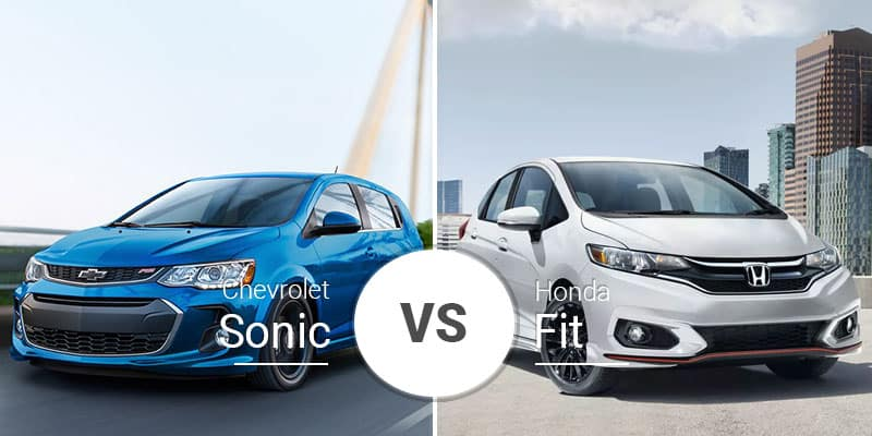 fdc6d25166 Chevy Sonic Vs. Honda Fit  Roomy Subcompact Hatchbacks Do Battle