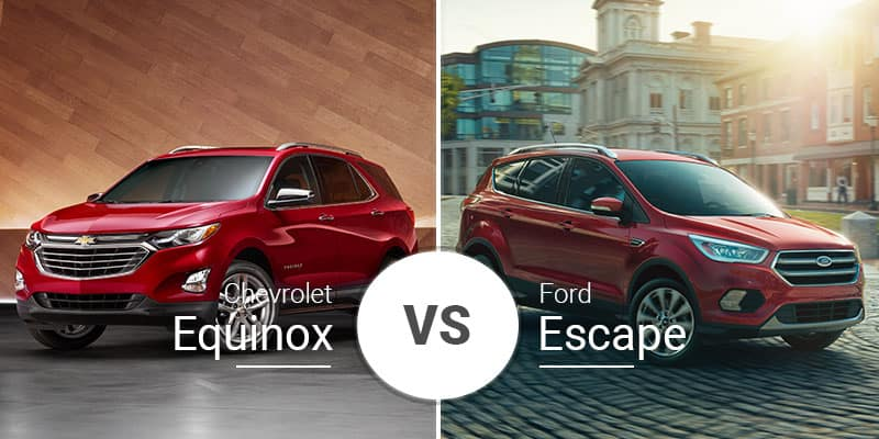 Chevy Equinox Vs Ford Escape Small Crossovers With Big Hearts