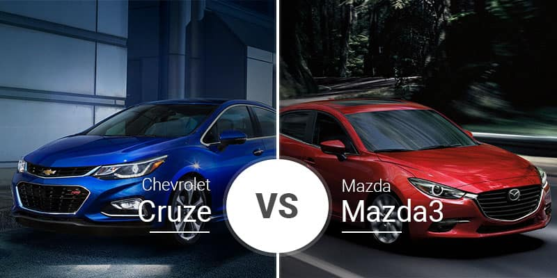 Chevy Cruze Vs  Mazda3: Compact Hatchback and Sedan Showdown