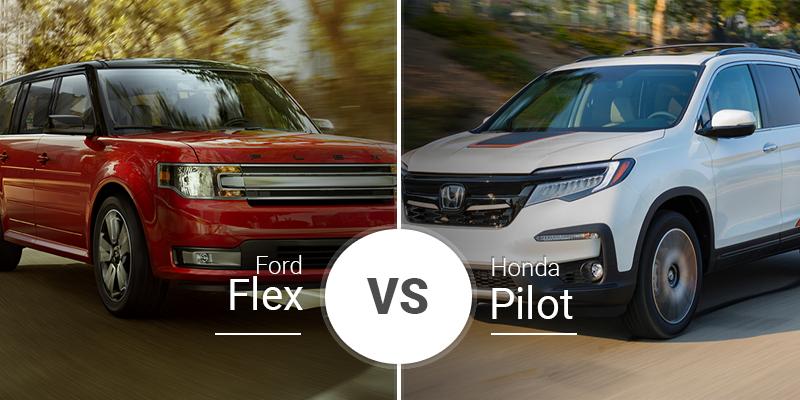 Ford Flex Vs  Honda Pilot
