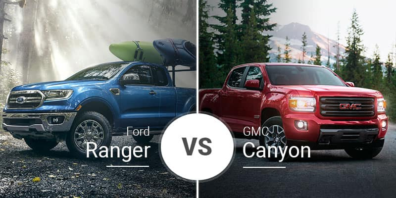 Ford Ranger Vs Gmc Canyon Midsize Pickups With Full Size Hearts