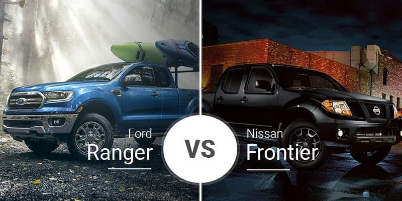 Ford Ranger Vs. Nissan Frontier: Midsize Pickups With Full ... on