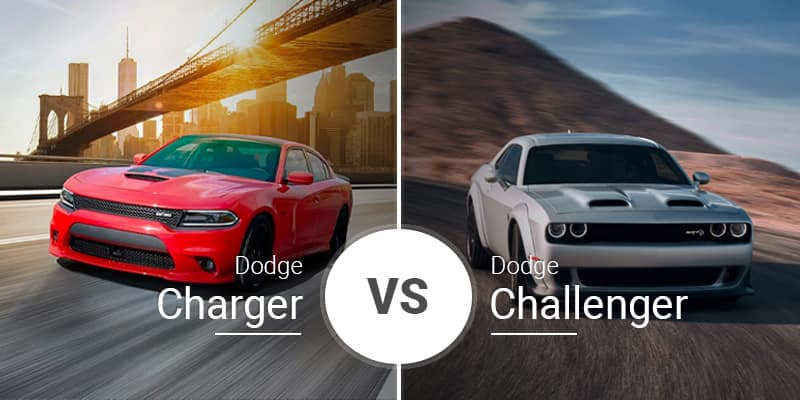 Charger Vs Challenger >> Dodge Challenger Vs Dodge Charger