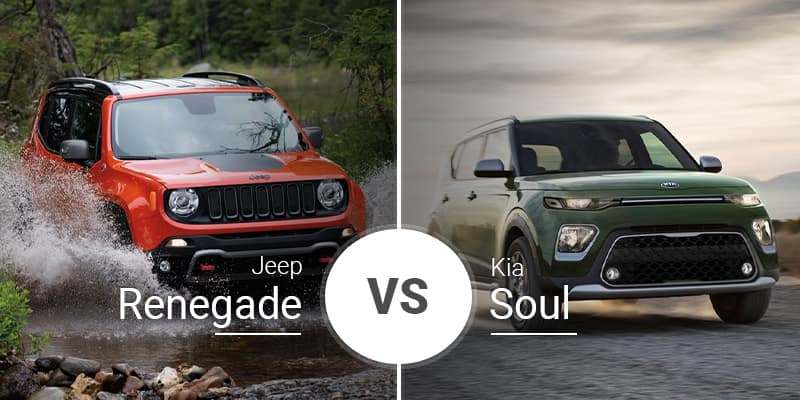 Jeep Renegade Vs Kia Soul
