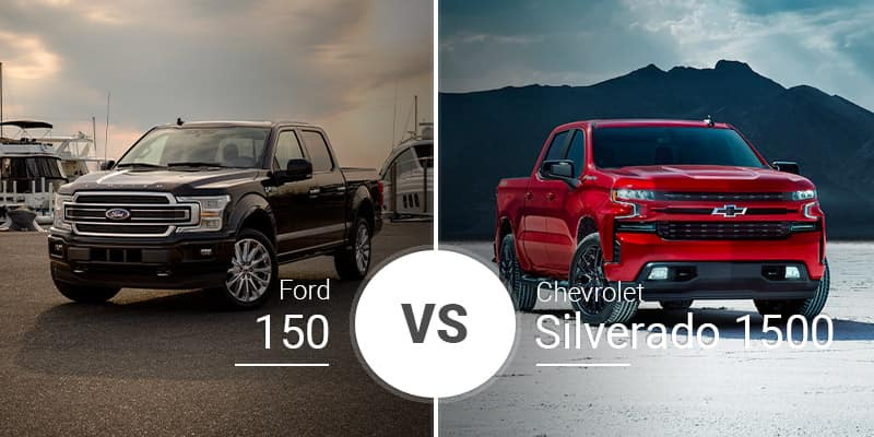 Is Ford Better Than Chevy >> Ford F 150 Vs Chevy Silverado 1500