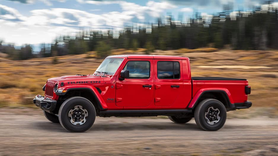 Exterior Features of the New Jeep Gladiator at Garber in Orange Park, FL