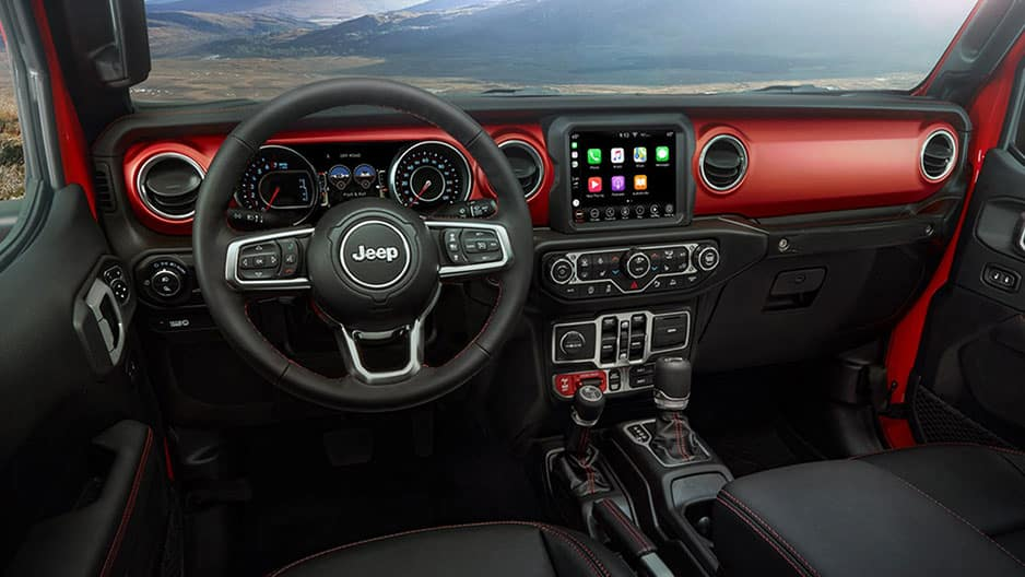 Interior Features of the New Jeep Gladiator at Garber in Orange Park, FL