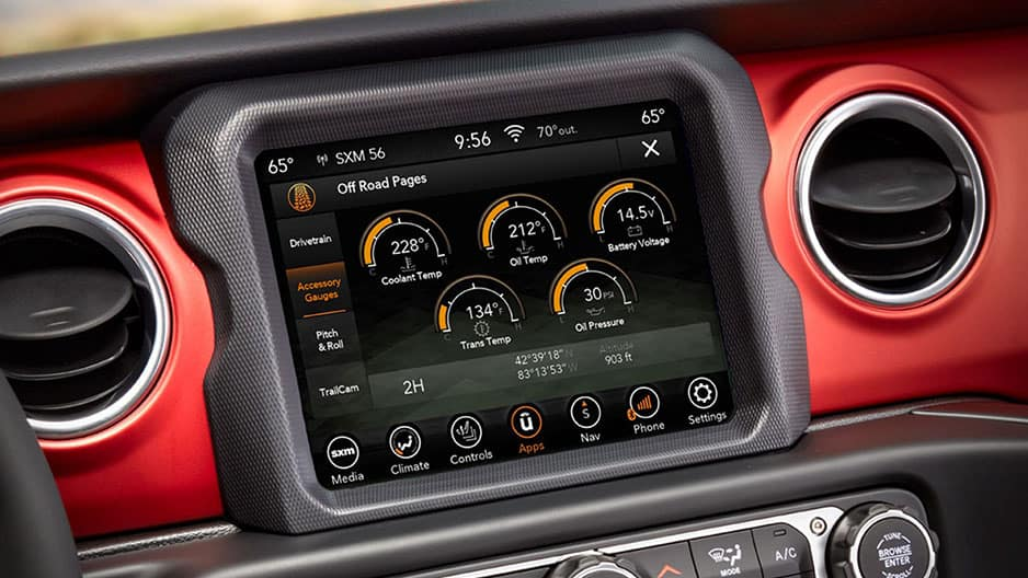 Technology Features of the New Jeep Gladiator at Garber in Jacksonville, FL