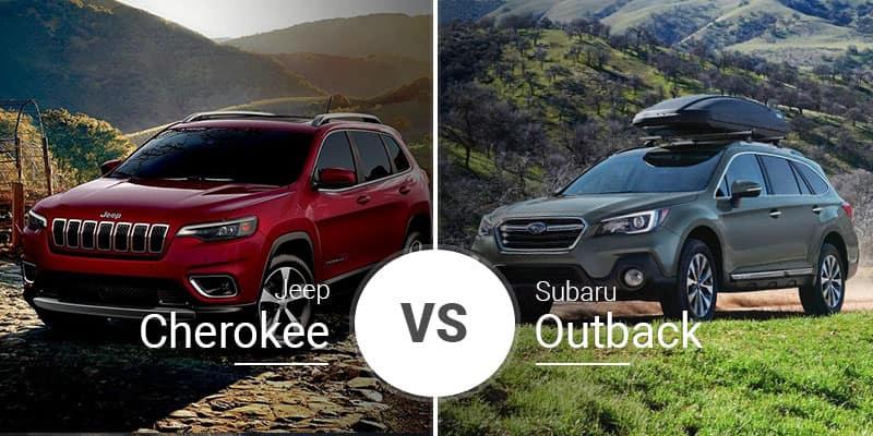 Jeep Cherokee Vs Subaru Outback