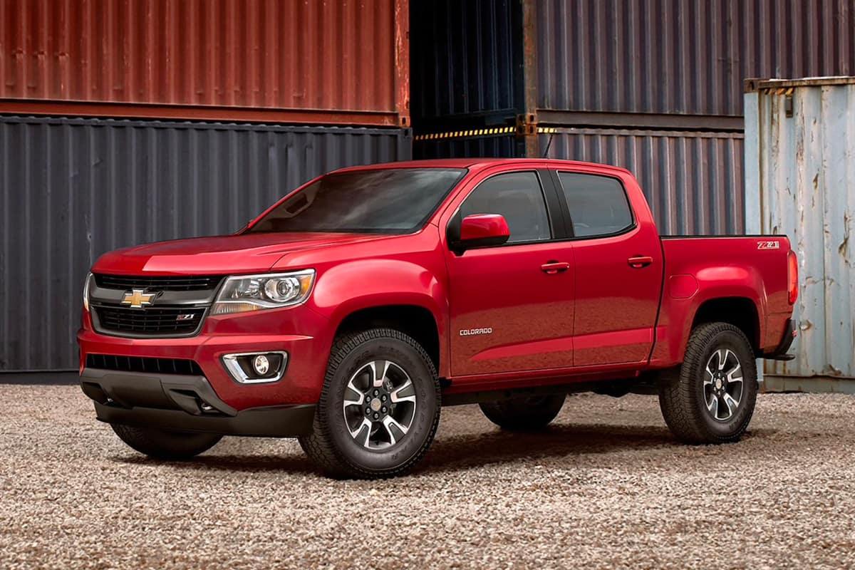 Konzept und Überprüfung 2020 Chevrolet Colorado