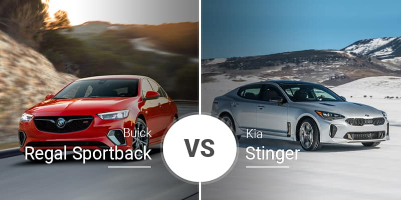 Surprising 2019 Buick Regal Sportback Vs 2019 Kia Stinger Evergreenethics Interior Chair Design Evergreenethicsorg