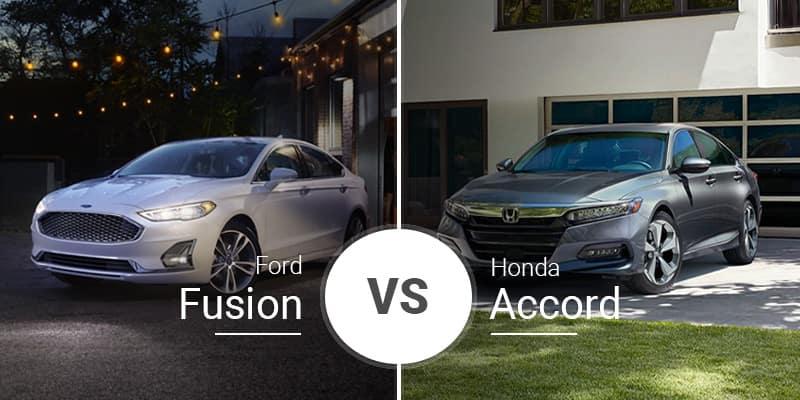 2020 Ford Fusion Vs 2020 Honda Accord