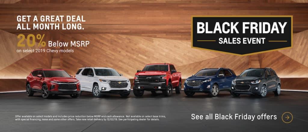 Chevrolet Black Friday Sales Event