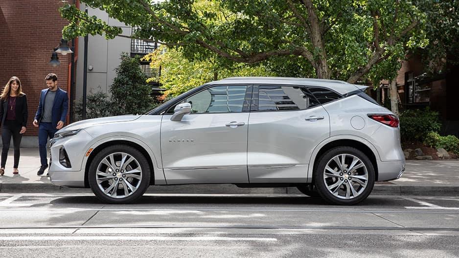 Exterior Features of the New Chevrolet Blazer at Garber in Orange Park, FL