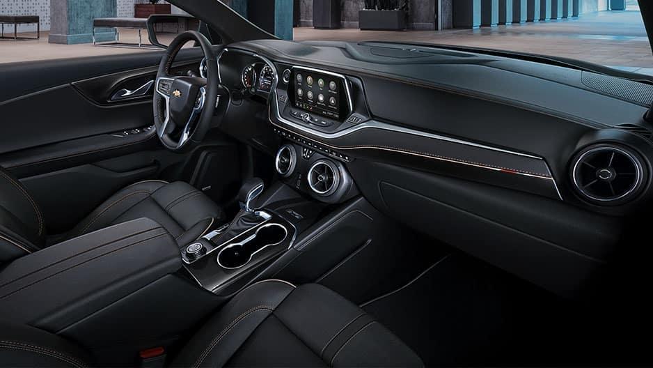 Interior Features of the New Chevrolet Blazer at Garber in Orange Park, FL