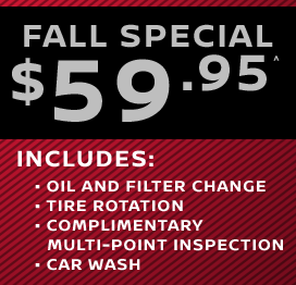 Fall Special $59.95^