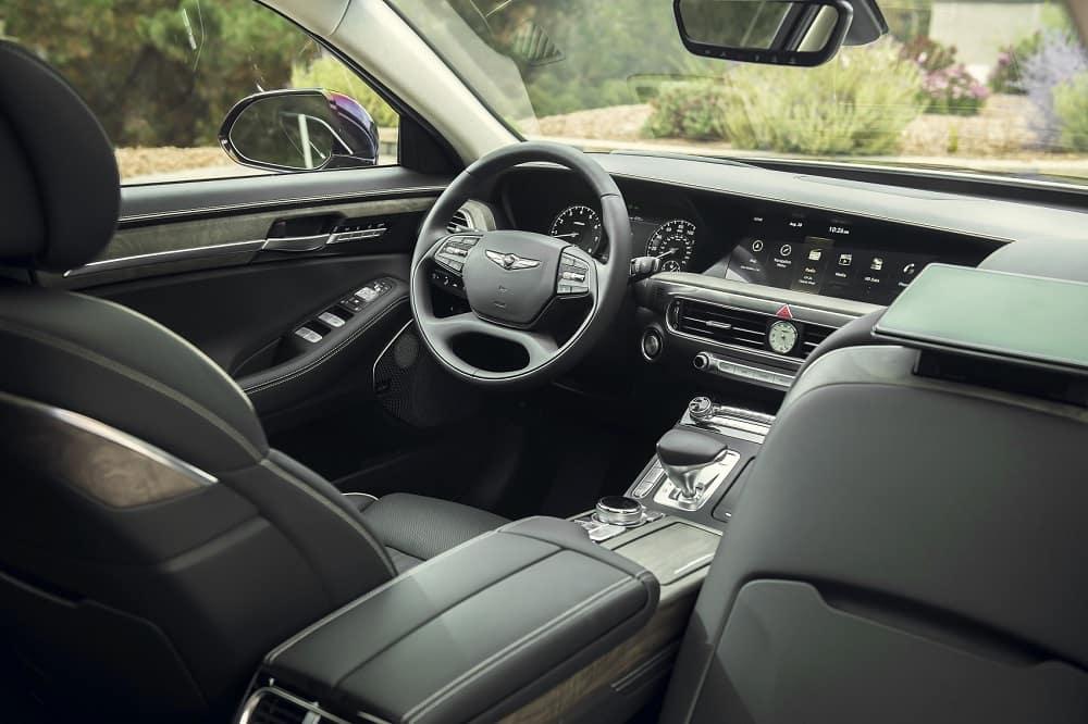 Genesis G90 Interior Technology