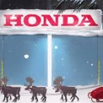 Honda Helps Santa Claus Build a Safer, Better Performing Sleigh