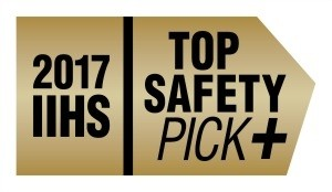 2017 Top Safety Pick Plus Award