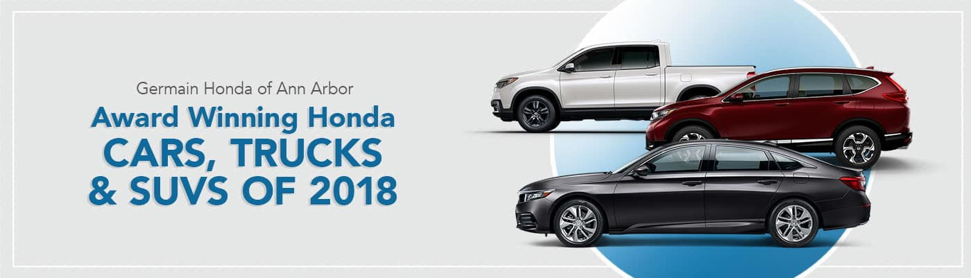 Award Winning Honda Cars Trucks Suvs Of 2018 Germain Honda Of