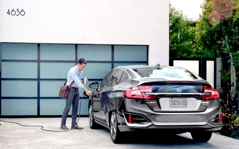 2019 Honda Clarity Plug-In Hybrid Charging