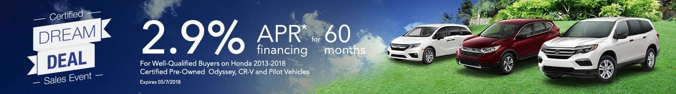 Honda APR Offers