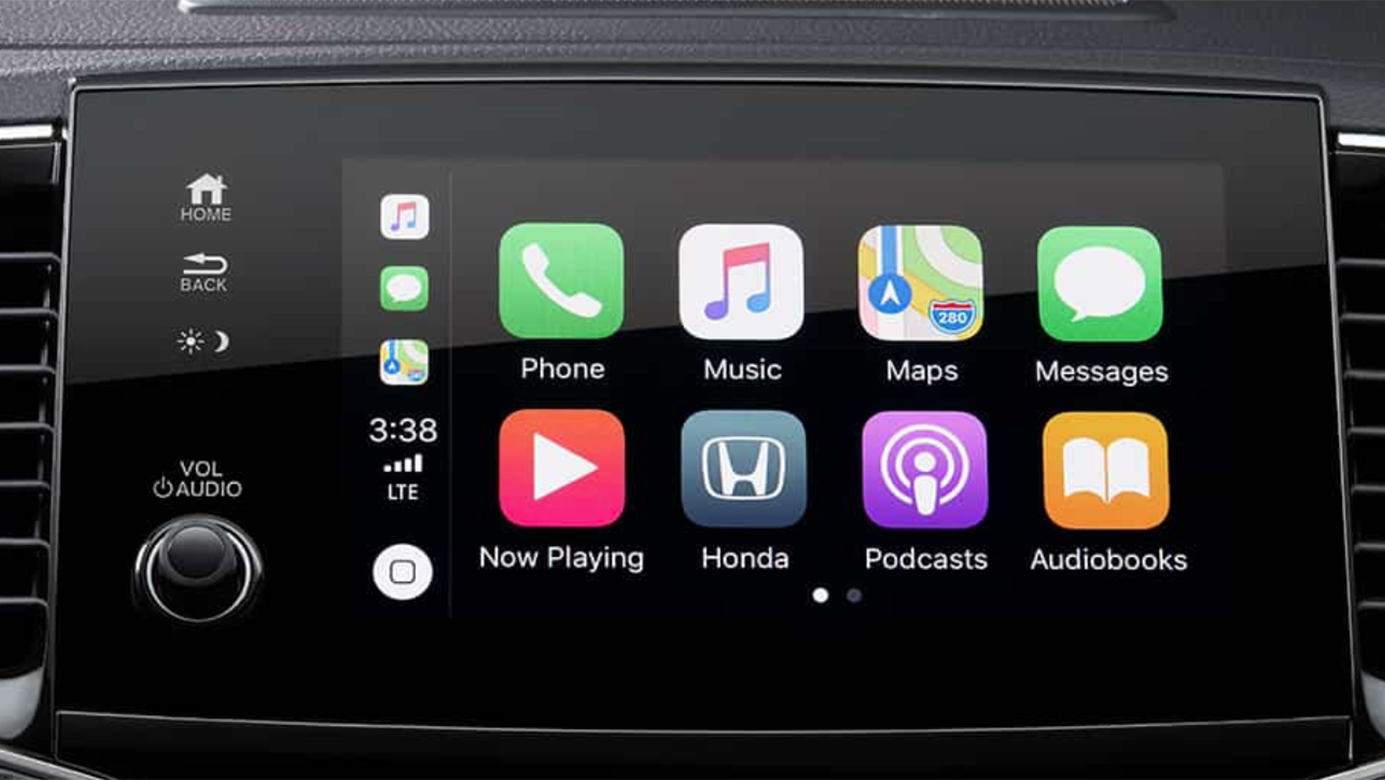 2020 Honda Pilot Display Audio System Apple CarPlay
