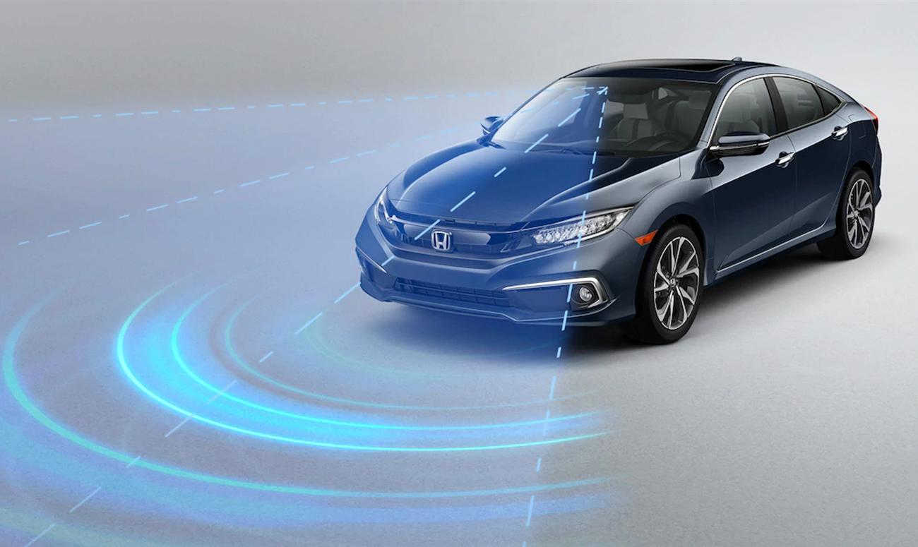 2019 Honda Civic Sedan Honda Sensing Safety