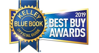 Kelley Blue Book Best Buy Awards 2019