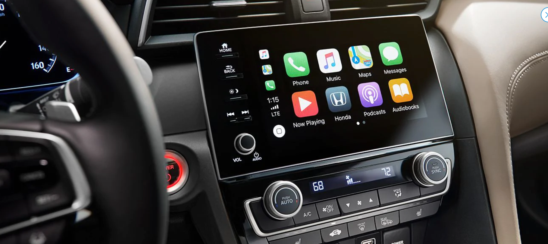 2019 Honda Insight Apple CarPlay Compatibility