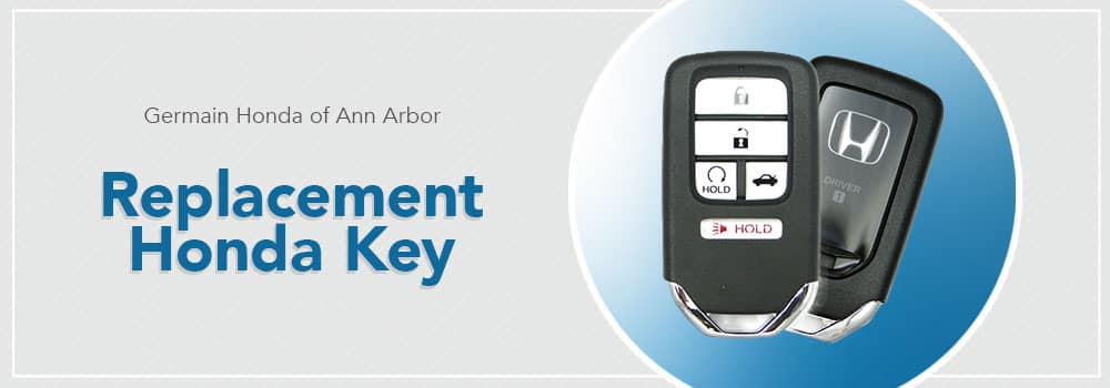 Replacement Honda Key Information