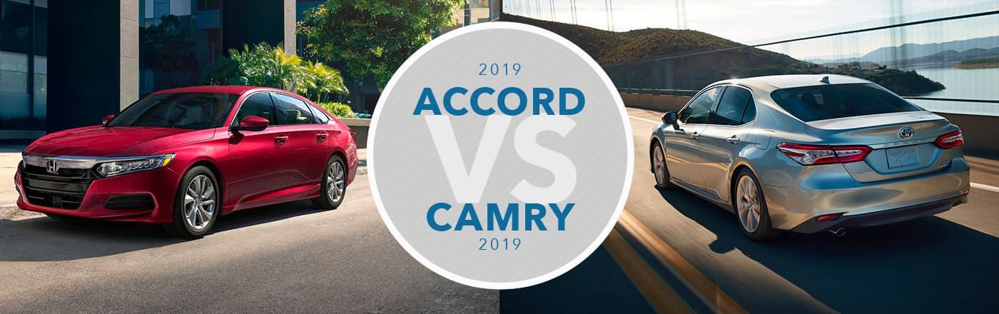 2019 Honda Accord vs 2019 Toyota Camry Comparison