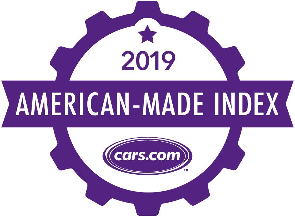Cars.com 2019 American-Made Index