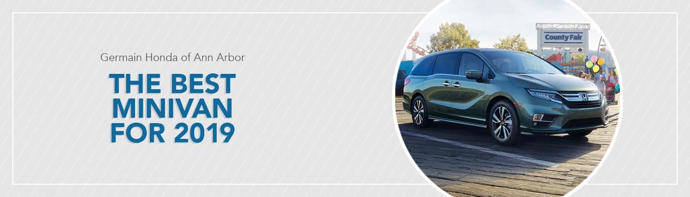 Best 2019 Minivan at Germain Honda of Ann Arbor