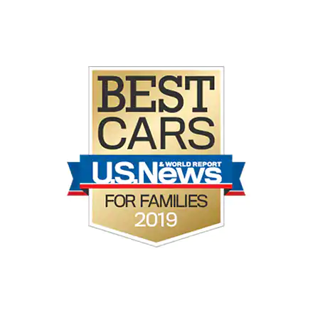 U.S. News & World Report 2019 Best Midsize Car for Families
