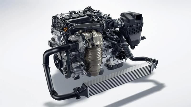 Honda Civic Hatchback Turbocharged Engine