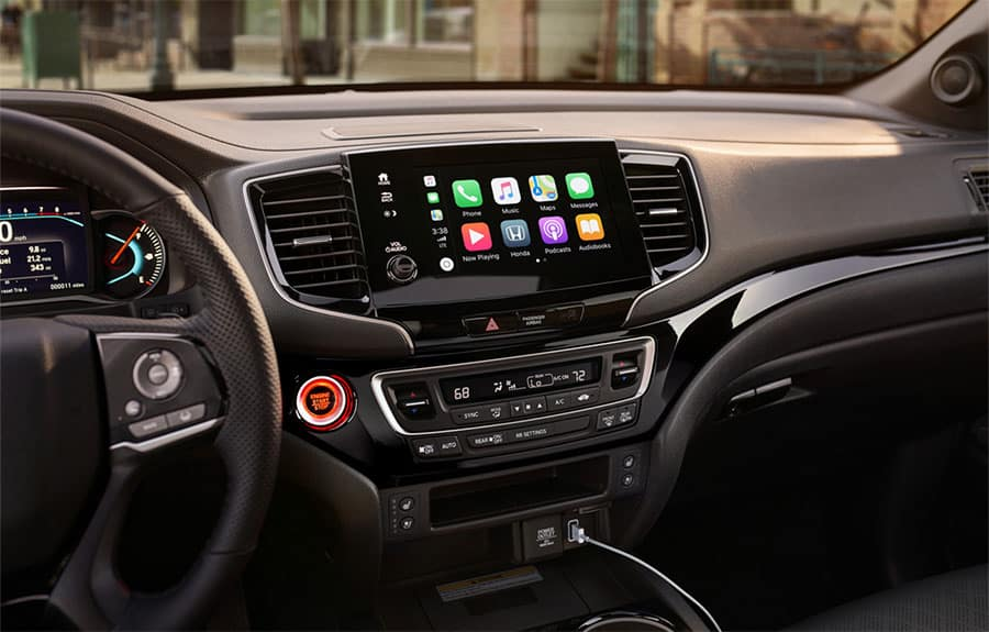 2021 Honda Passport Display Audio System