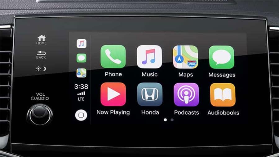 2020 Honda Pilot Display Audio System Apple CarPlay