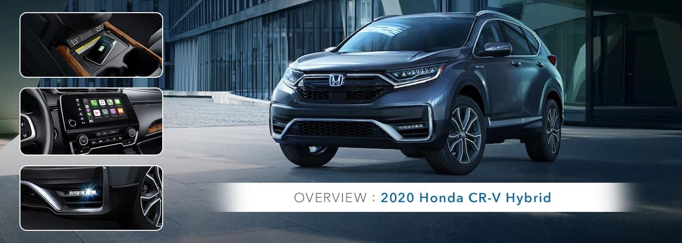 2020 Honda CR-V Hybrid Model Overview at Germain Honda of Ann Arbor