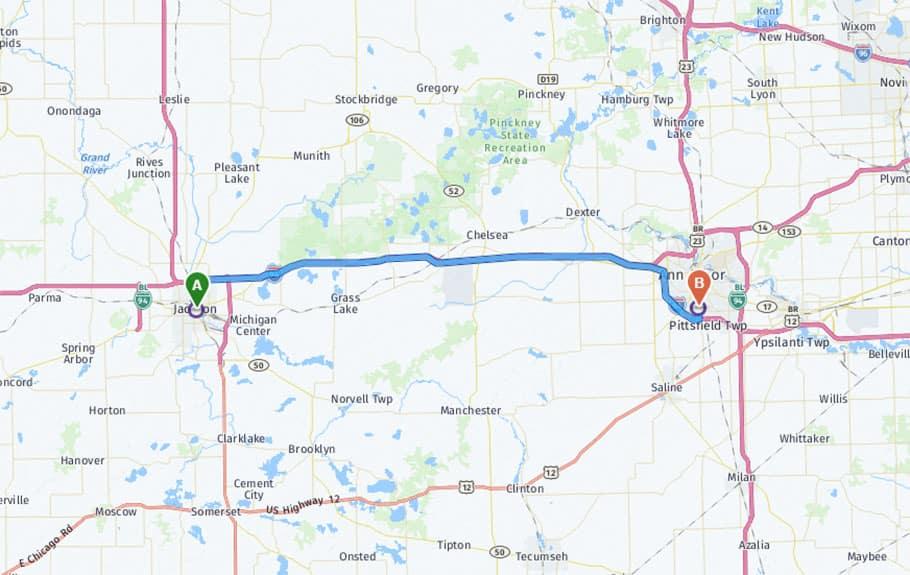 Directions to Germain Honda of Ann Arbor
