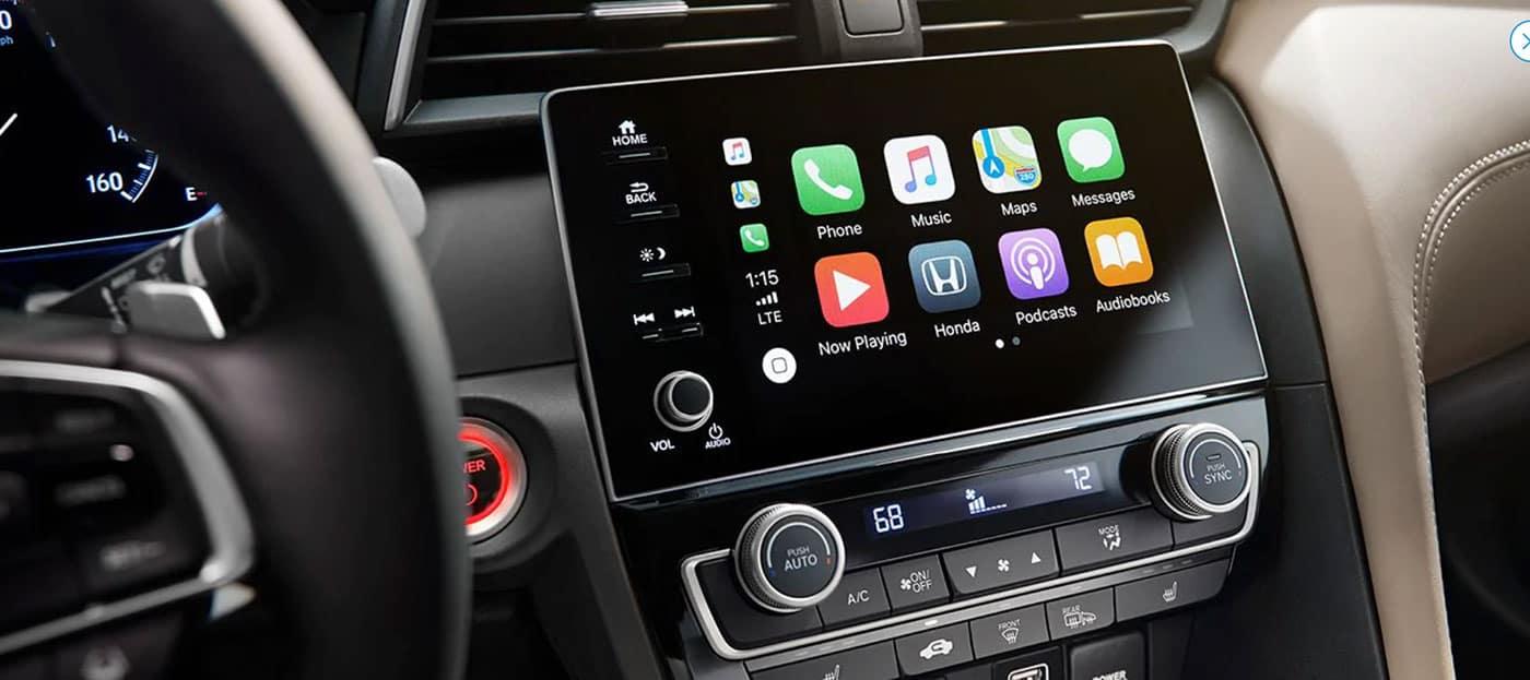 2019 Honda Insight Apple CarPlay Compatibility