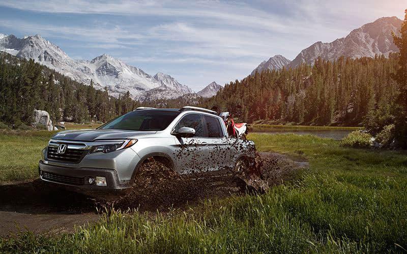 2020 Honda Ridgeline Off-Road Capability