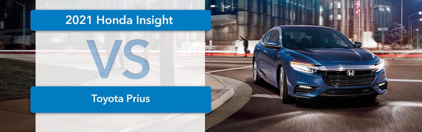 2021 Honda Insight vs Toyota Prius