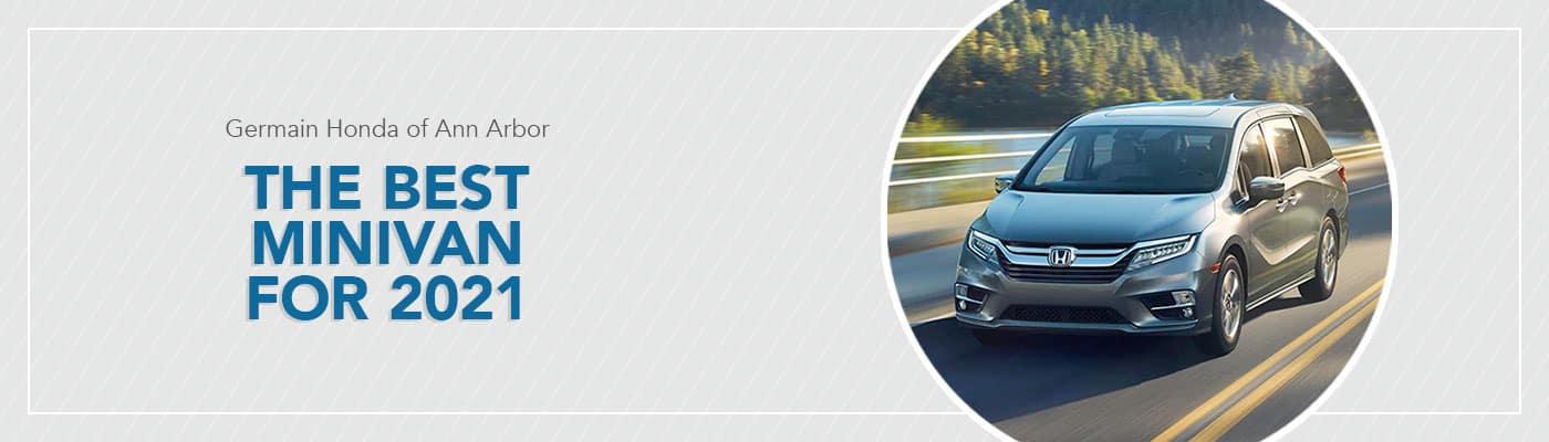 Best 2021 Minivan at Germain Honda of Ann Arbor