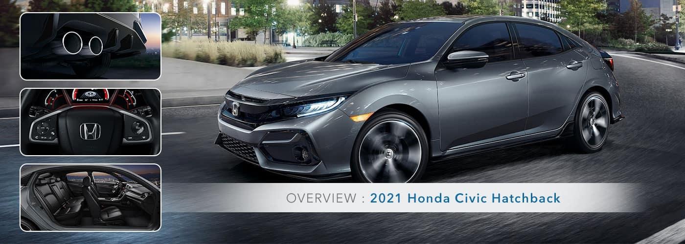 2021 Honda Civic Hatchback Overview at Germain Honda of Ann Arbor